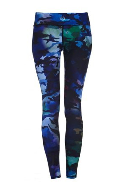 CAREFREE CAMO – HIGHER WAISTED CAMOUFLAGE PRINT – FULL LENGTH