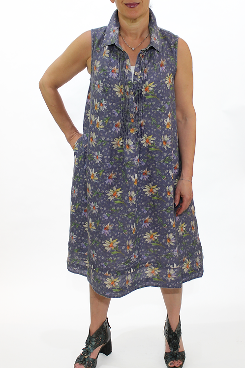Daisy S/L Collar Dress