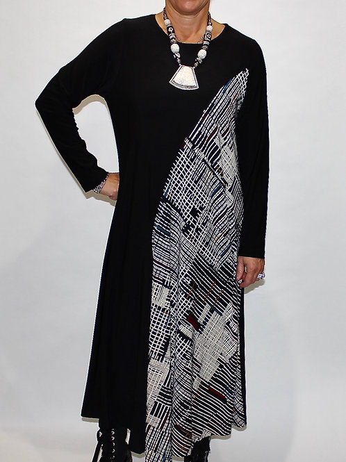 Geo print easy dress