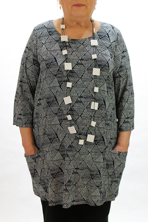 Two Pocket Dot Tunic