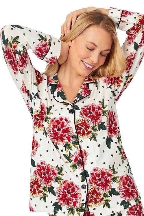 Room to Bloom Women's Stretch Pajama Set