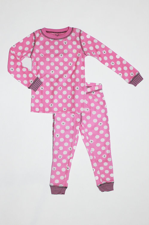 Kids Polar Dot Pajama Set