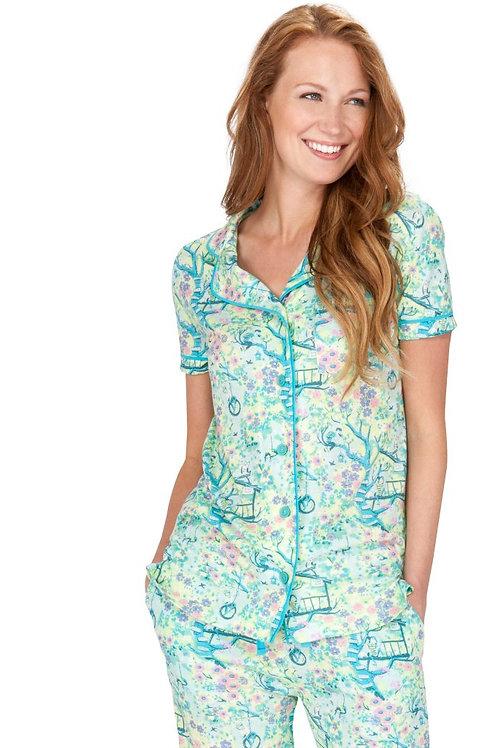 Treehouse Floral Women's Stretch Pajama Set