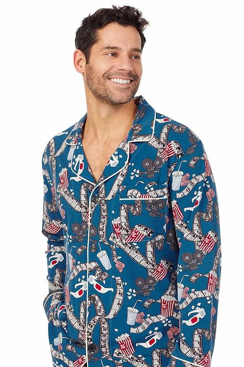 Men's Movie Night Stretch Pajama