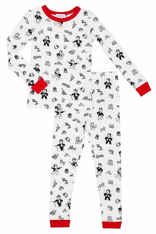 Kids' Monopoly Icon Stretch Pajama Set