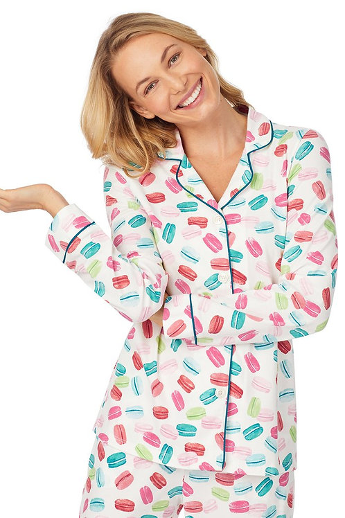 Macarons Women's Stretch Pajama Set