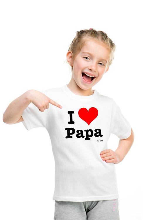 I Heart Papa - Kids T