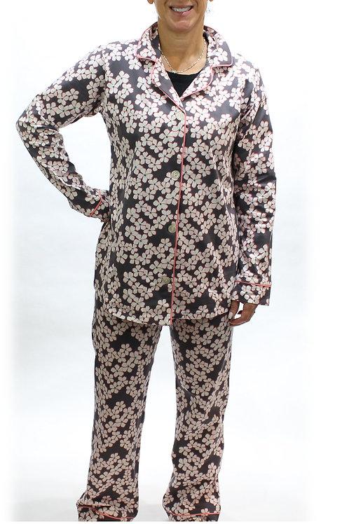 Star Flower Women's Stretch Pajama Set