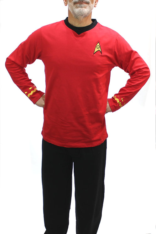 Star Trek 'Scotty' Stretch Pajama Set