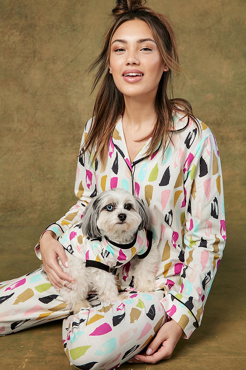 Artist Palette Women's Stretch Pajama