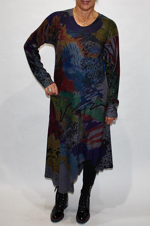 night dusk knit dress
