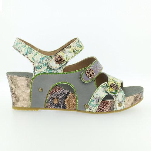 Wedge Snap Sandal