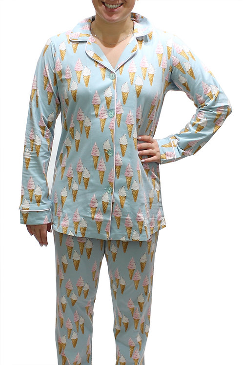 Ice Cream Women's Stretch Pajama Set