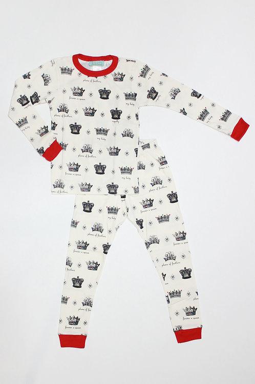 Kids Always a Queen Pajama Set