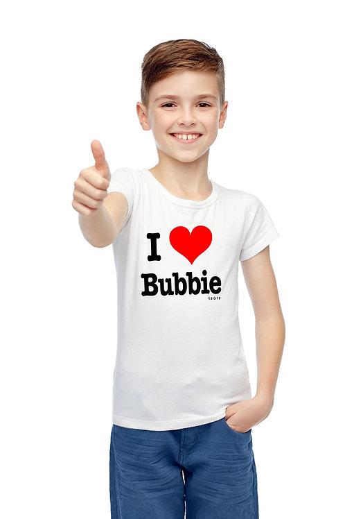 I Heart Bubbie - Kids T