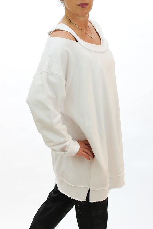 Cold Shoulder - White