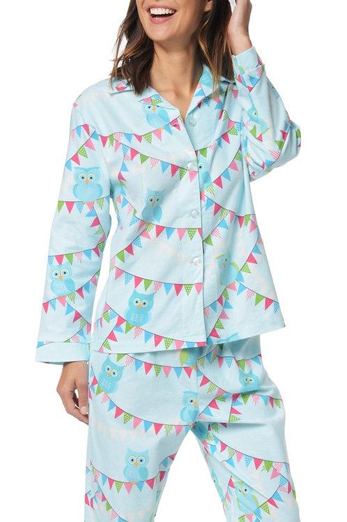 Blue Owl Women's Flannel Lounger