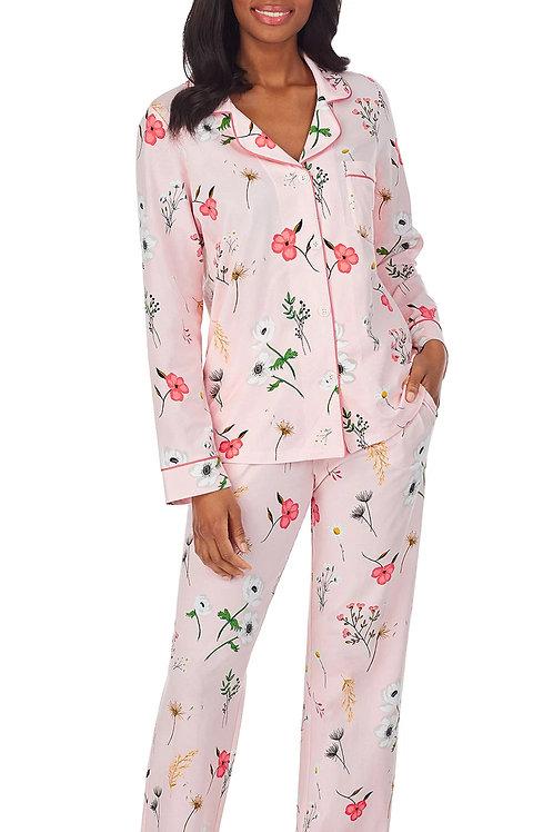 Fresh Cut Flowers Women's Stretch Pajama Set