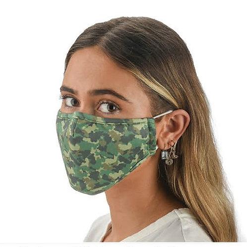 Face Mask Camo Print