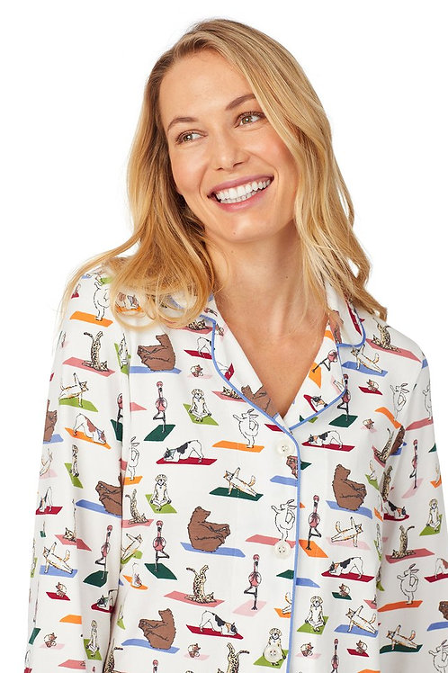 Zen at the Zoo Women's Stretch Pajama Set