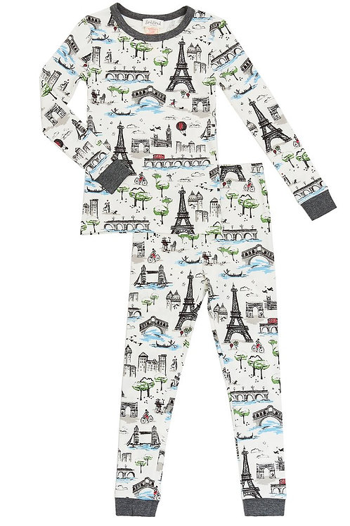 Kids' Sightseeing Stretch Pajama Set