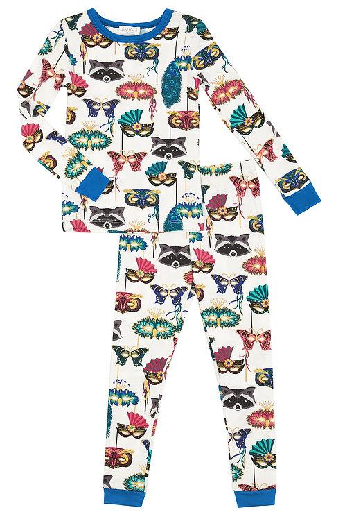 Kids' Masquerade Stretch Pajama Set