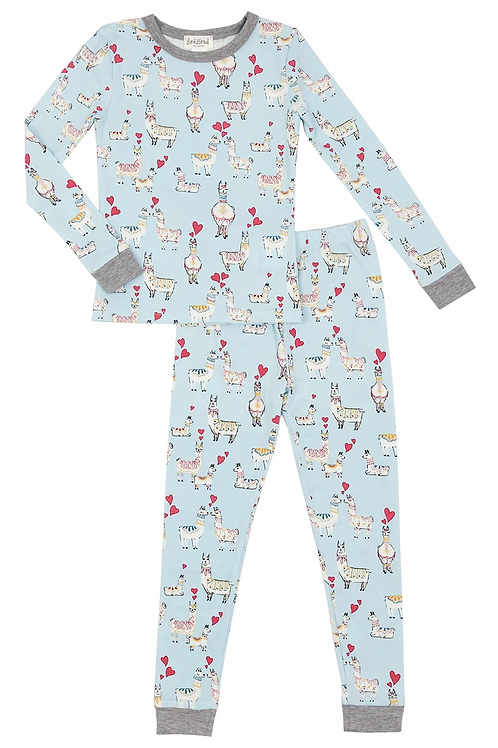 Kids' Llama Love Stretch Pajama Set