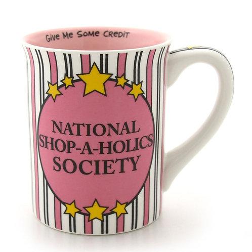 Shop-a-holics Society Mug