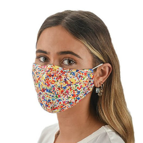 Face Mask Splatter Print