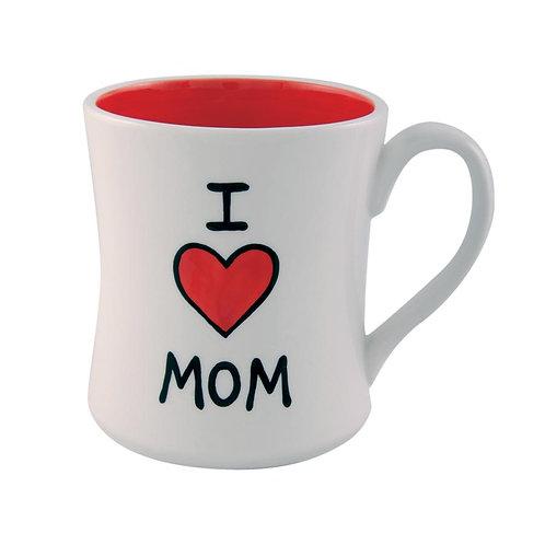 I Heart Mom Mug