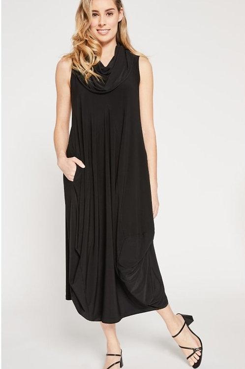 Sympli Sleeveless Dream Dress Black
