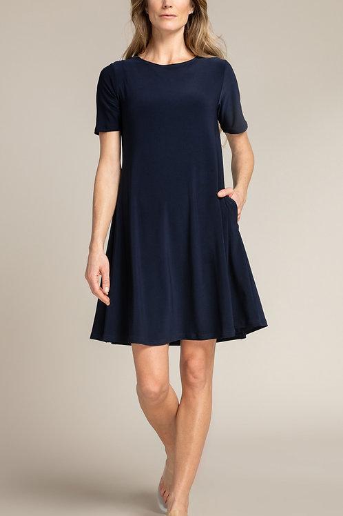 Sympli Trapeze Dress Short