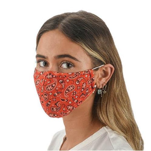 Face Mask Bandana Print