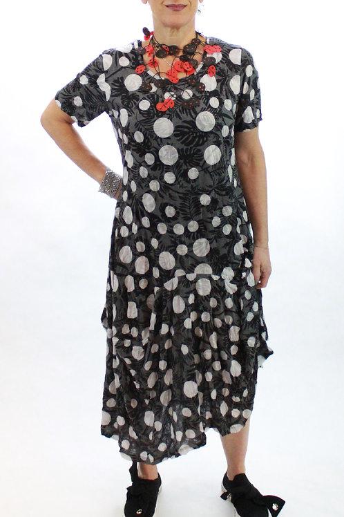 White Dot Dress