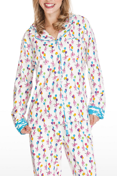 When Pigs Fly Women's Flannel Lounger (M only)