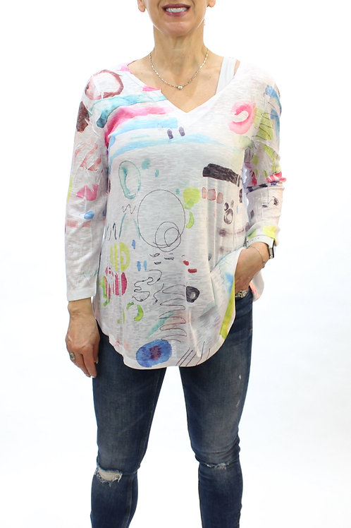 Abstract Burnout Top