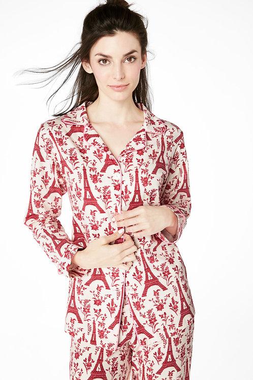 Eiffel Floral Women's Stretch Pajama (S & XL only)