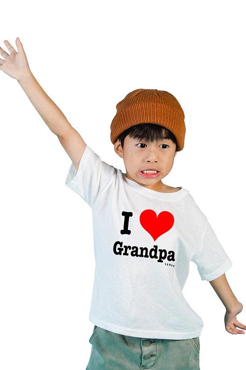 I Heart Grandpa - Kids T