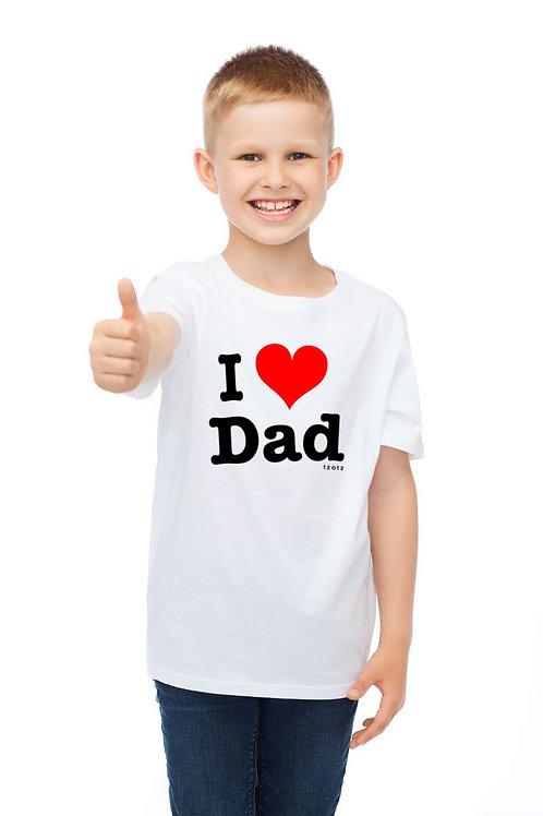 I Heart Dad - Kids T