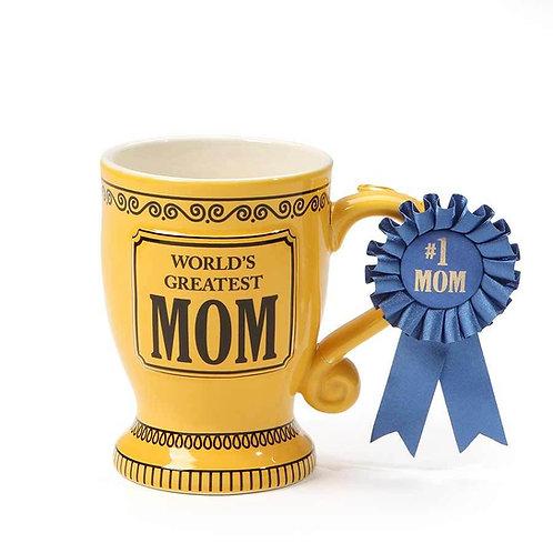 Greatest Mom Trophy Mug