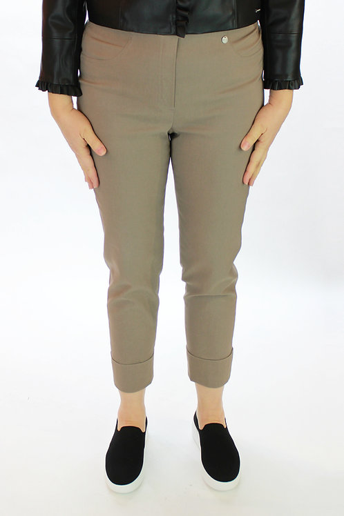 Taupe Cropped Techno