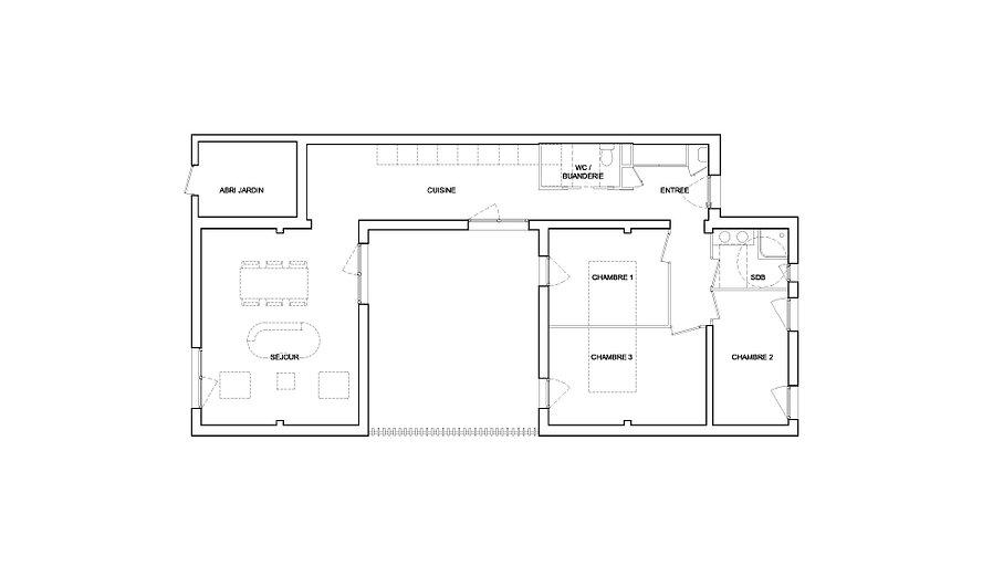 Plan Patiobox type 4
