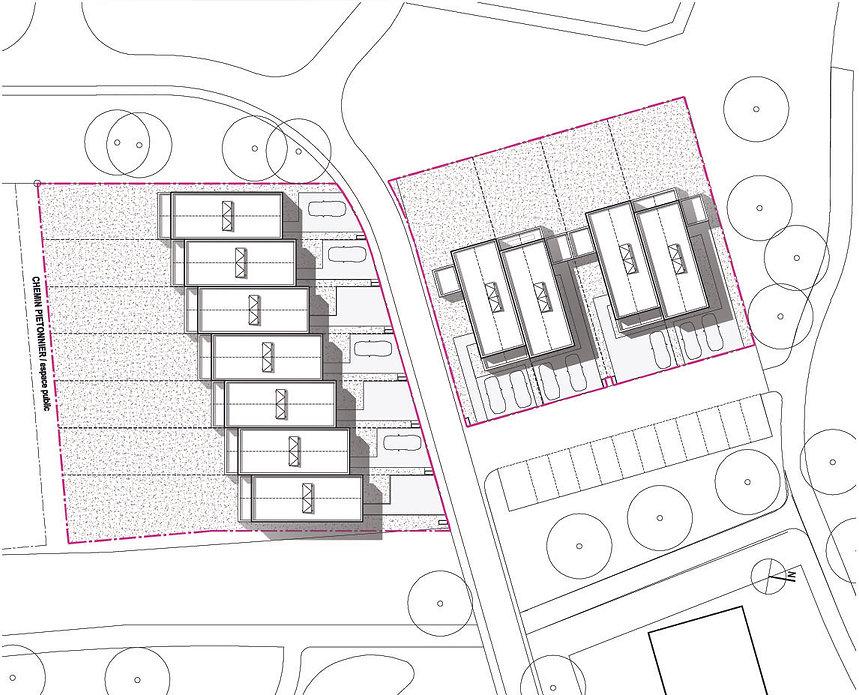 plan masse la chapelle thouarault