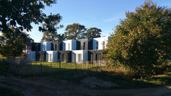 Maisons containers chapelle Thouarau