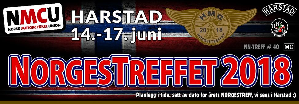 Norgestreff 2018 i regi av Harstad Mc