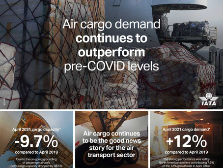 Goods News from Air Cargo Sector