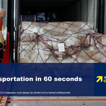 New free video! ULD Transportation in 60 seconds