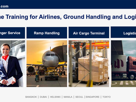 Online Training for Airlines, Ground Handling and Logistics