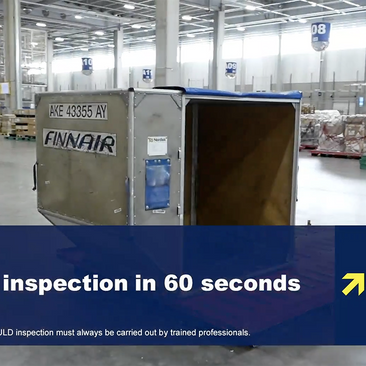 Container Inspection in 60 seconds video released for global distribution