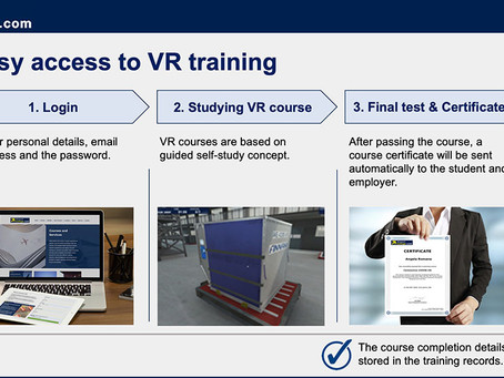 We Have Made VR Training Available for All Ground Handlers